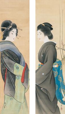 「美人図 (芸妓・娼妓)」