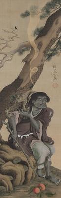 「蝦蟇仙人図」